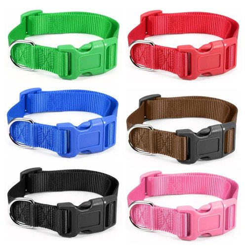 Big Size Pet Dog Cat Adjustable Belt Nylon Harness Pet Lead Collar