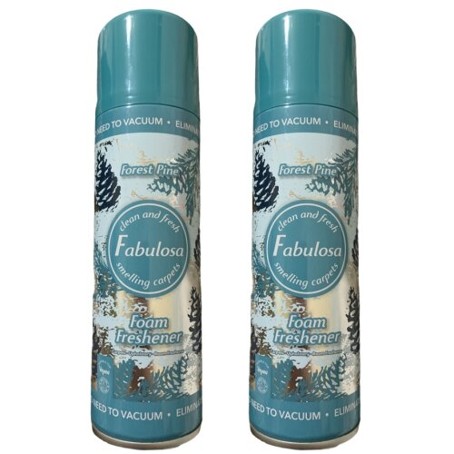 Fabulosa Foam Freshener Forest Pine Carpet Cleaner 300 ml