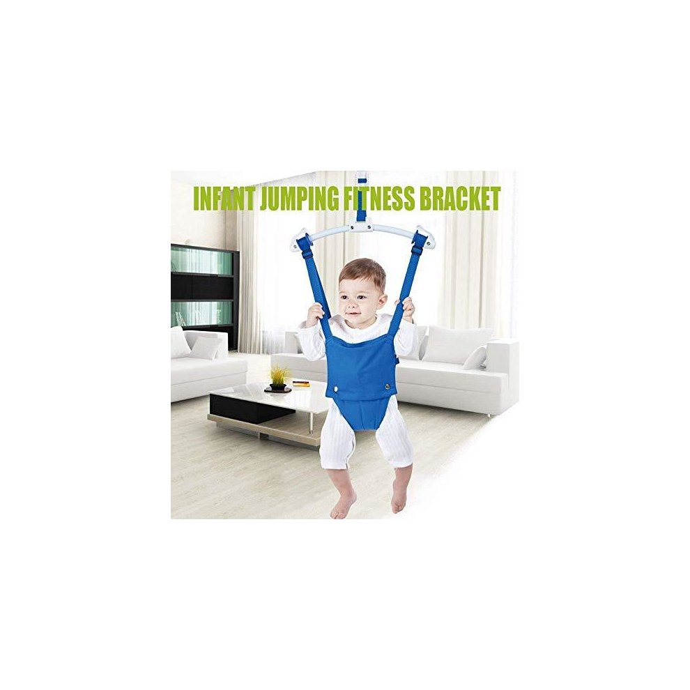 likeitwell Baby Activity Jumper With Door Clamp Baby Door Jumper And Bouncer Doorway Swing Jump Up Seat Exercise Toddler Infant 6-24 Months