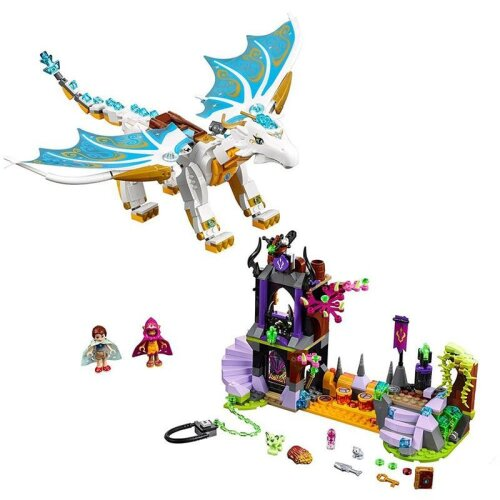 (As Seen on Image) New Elves Fairy Long After Rescue Dragon, Girls Fit Building Blocks