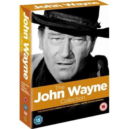 John Wayne - The Searchers / Chisum / Rio Bravo / Cahill Umited States Marshall DVD [2011]