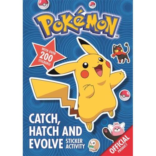 Pokemon Catch Hatch and Evolve Sticker Activity by The Pokemon Company International