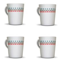 OLPRO Witley Melamine Mug Set (Pack of 4)