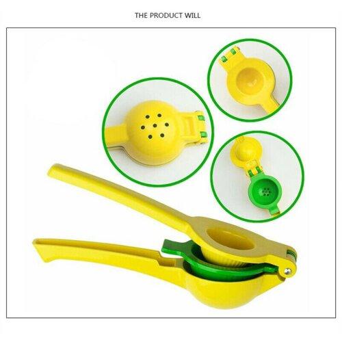 Manual Juicer Citrus Lemon Squeezer Fruit Juicer Lime Press Metal Kitchen Tool