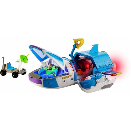 Toy Story 4 Buzz Lightyear's Star Command Center Toy Spaceship