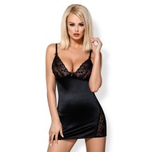Obsessive 846 Chemise and Matching Thong Set