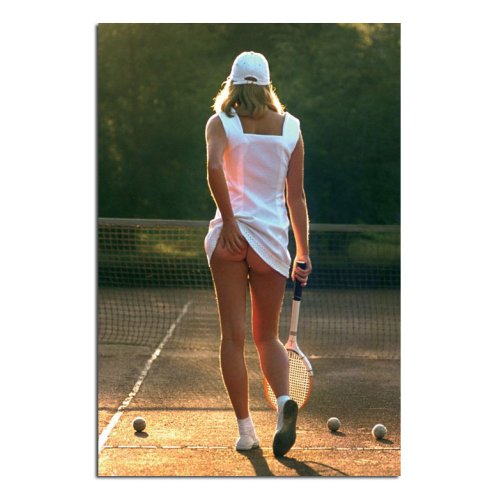 Classic Tennis Girl Poster (HML)