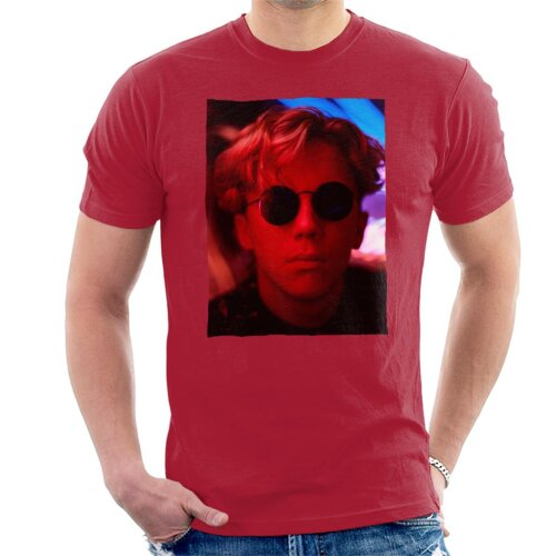 Weird Science Gary Wallace Wearing Glasses Men's T-Shirt