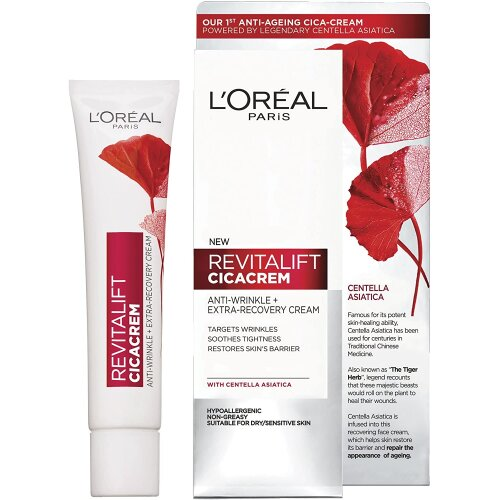L'Oreal Revitalift Cicacrem Anti-Wrinkle Cream – 40ml