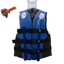 M Size Watersport Life Jacket Aid Vest (Blue)