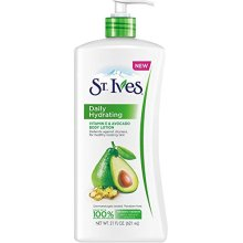 St Ives Daily Hydrating Vitamin E &amp Avovado Body Lotion 21 oz (Pack of 5)