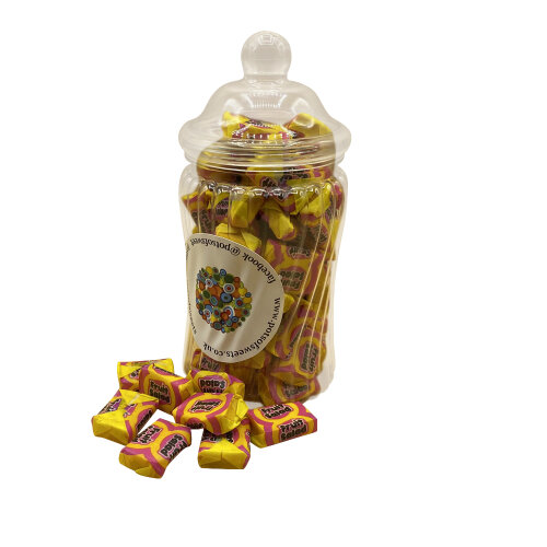 240g Spiral Jar of Fruit Salads Sweets