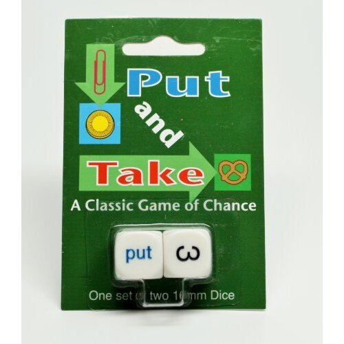 Put and Take 16 mm Dice