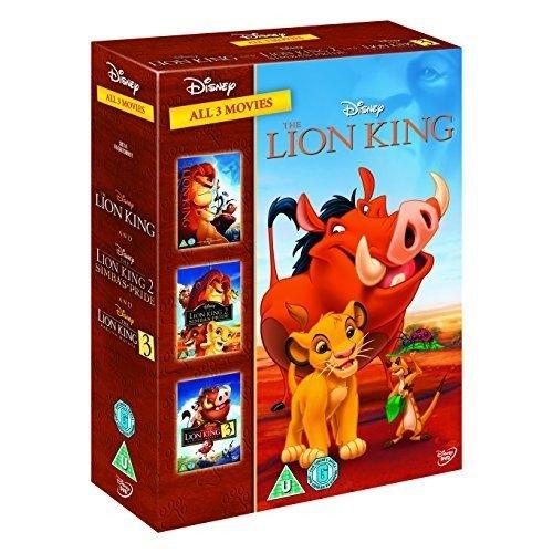 The Lion King / The Lion King 2 - Simbas Pride / The Lion King 3 - Hakuna Matata DVD [2014]