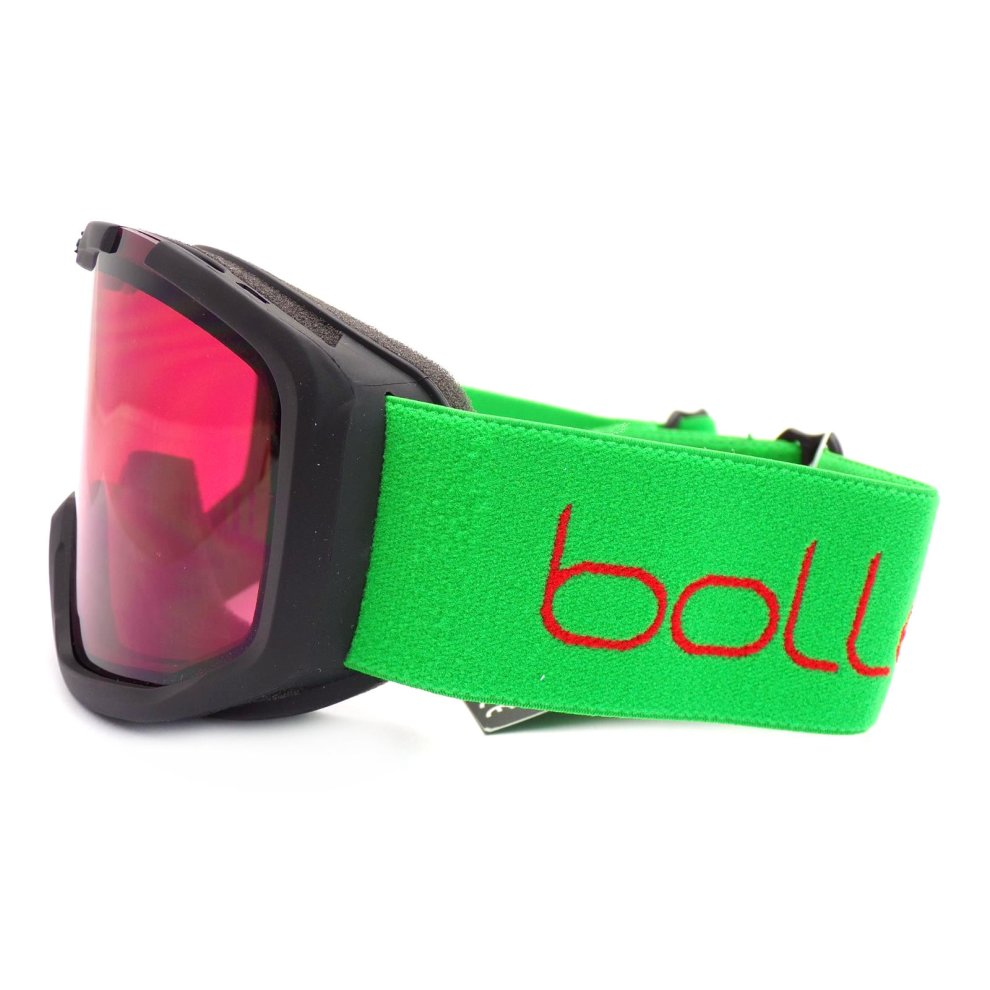 Small Matte Red Race Vermillon Bolle Kids Rocket Goggles