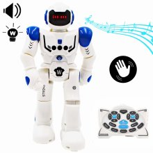 deAO Interactive Remote Control Robot Toy with Programmable Mode, Gesture Sensing, Dancing Walking and Singing Smart Robotics - Fun Gift for Kids