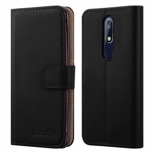 For Nokia 7.1 Premium Leather Wallet Flip Case