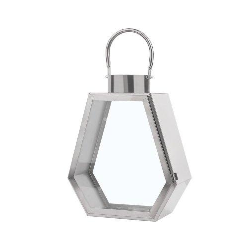 Decorative Lantern Silver CORSICA