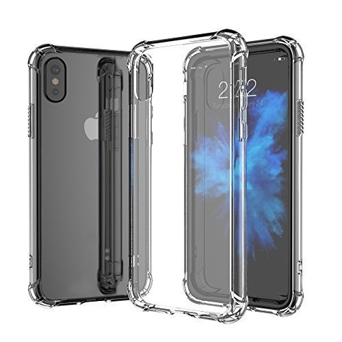 For iPhone XR (6.1) Anti-Shock Crystal Clear Transparent Panel Cover