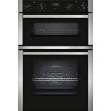 NEFF N50 U1ACI5HN0B Built In Double Oven - Stainless Steel