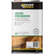 Everbuild Wood Preserver 5 Ltr