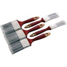 5pc Paint Brush Set -  paint brush set decorating wooden painters diy handle painting brushes 5