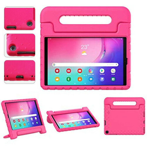 Protective Case For Samsung Galaxy Tab A7 10.4 2020 (SM-T500/T505) Full-Body EVA Foam Shockproof Stand Case, Hand Grip, Tablet Slim Cover Shell