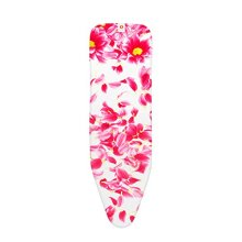 Brabantia Ironing Board Cover with 2 mm Foam - 124 x 38 cm, Standard, Pink Sanitini