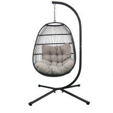 Deluxe Garden Hanging egg chair