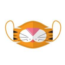 Washable & Reusable Animal Design Adult Face Mask