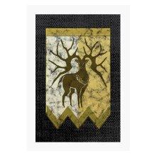 Golden Deer Logo Fire Emblem Three Houses A4 Print