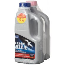 ELSAN Blue Toilet Fluid and Pink Rinse - 1 Litre Twinpack [BP01]