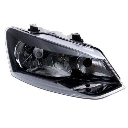 Volkswagen Polo 6r 2009-2014 Headlight Headlamp Drivers Side O/s