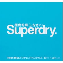 Superdry Neon Blue Fragrance Cologne Spray 40ml