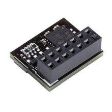 Asus Tpm-Spi Tpm Module 14-1 Pin & Spi Interface Securely Stores Keys Data 90MC07D0-M0XBN0