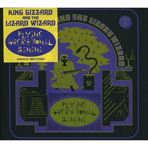 King Gizzard and the Lizard Wizard - Flying Microtonal Banana [CD]