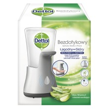 Dettol No Touch Hand Wash System With 250ml Aloe Vera Refill