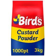 Birds Custard Powder - 4x3kg