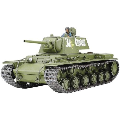 Tamiya 35372 Russian KV-1F 1941 Early Heavy Tank (1:35 Scale)