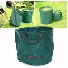 Garden Leaf Bags Reusable Yard Garden Waste Storage Holder Bag with Handles
