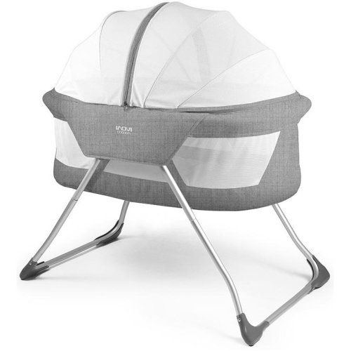 Inovi Cocoon Travel Cot Grey
