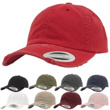 Flexfit by Yupoong Unisex Low Profile Curved Peak Destroyed Baseball Cap Hat
