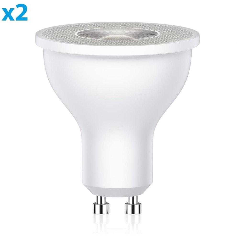 2 pcs, 12V 35W GU10 HalogenLight Bulb