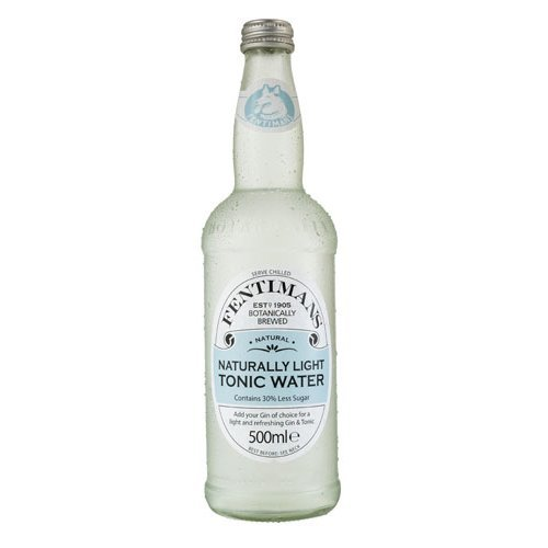 Fentimans  Naturally Light Tonic Water 500ml x 8