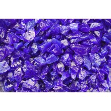 Cobalt Blue Glass Chippings 3 Sizes to Choose From