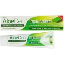 Aloe Dent Triple Action Original Aloe Vera Toothpaste + Co Q10 -mint 100ml