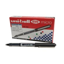 uni-ball uniball Eye Micro Rollerball Pen  UB-150 Liquid Ink Black Pack 12