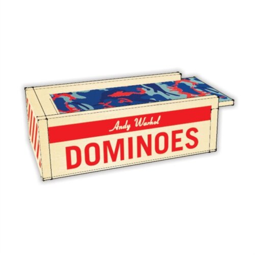 Andy Warhol Wooden Dominoes by By artist Andy Warhol