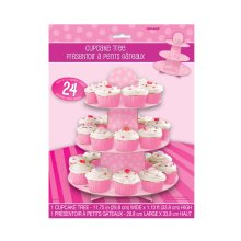 Unique Party Pink Cupcake Stand