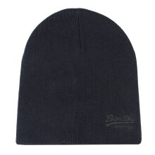 Superdry Eclipse Navy Black Grit Classic Beanie